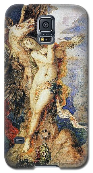 Perseus And Andromeda Galaxy S5 Case by Gustave Moreau