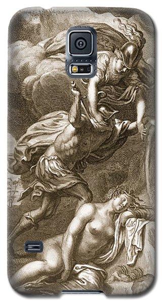 Gorgon Galaxy S5 Case - Perseus Cuts Off Medusas Head, 1731 by Bernard Picart
