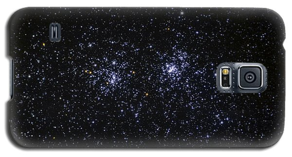 Galaxy S5 Case featuring the photograph Perseus Double Cluster Ngc 869 by Dennis Bucklin