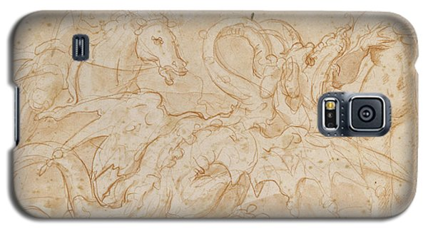 Perseus Rescuing Andromeda Red Chalk On Paper Galaxy S5 Case by or Zuccaro, Federico Zuccari