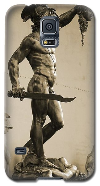 Perseus With The Head Of Medusa Galaxy S5 Case