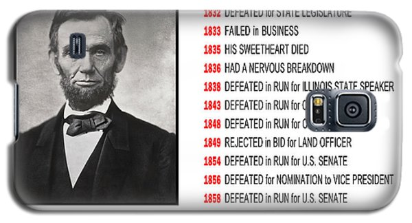 Perseverance Of Abraham Lincoln Galaxy S5 Case by Daniel Hagerman