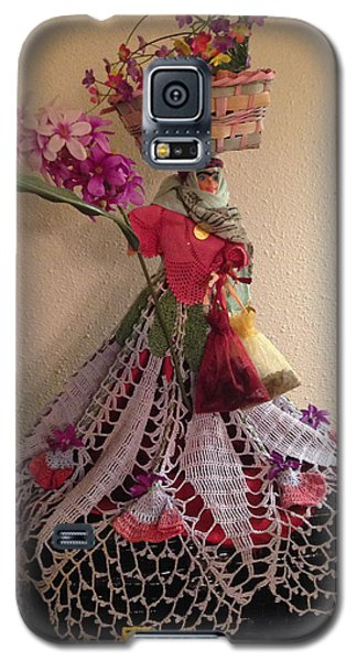 Galaxy S5 Case featuring the sculpture Persian Doll- Dokhtar Irooni by Sima Amid Wewetzer