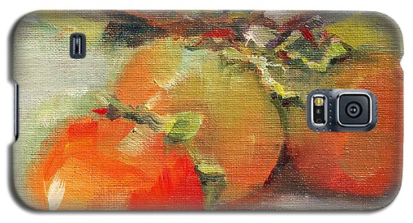 Persimmons Galaxy S5 Case by Michelle Abrams