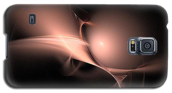 Persistent Thoughts / Pink Pearls In The Dark  Galaxy S5 Case by Elizabeth McTaggart