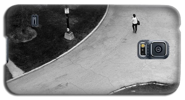 Person On Walkway Galaxy S5 Case
