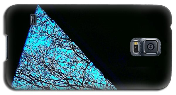 Blue Triangle Galaxy S5 Case