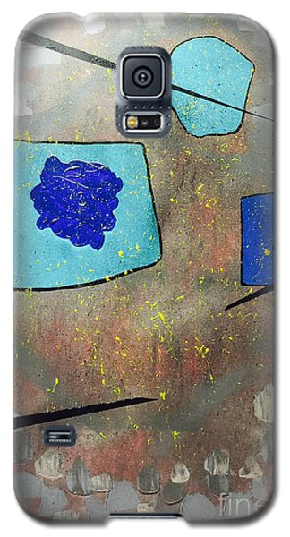 Perspectives In Blue And Grey Galaxy S5 Case