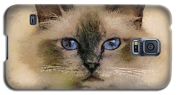 Pet Cat Galaxy S5 Case by Georgi Dimitrov