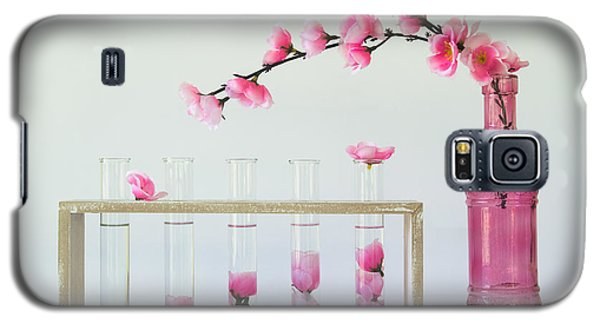 Orchid Galaxy S5 Case - Petal Collecting by Jacqueline Hammer