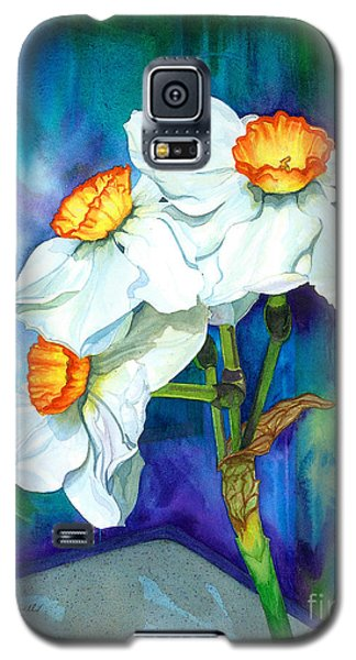 Petal Portrait Galaxy S5 Case