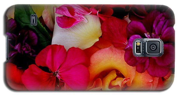 Galaxy S5 Case featuring the photograph Petal River by Jeanette French