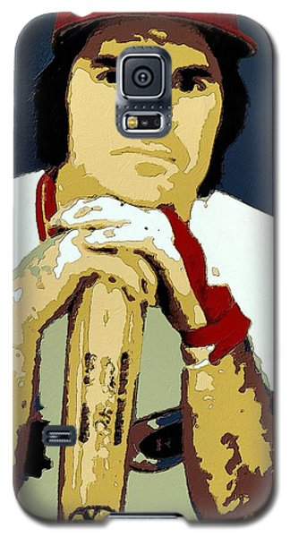 Pete Rose Poster Art Galaxy S5 Case