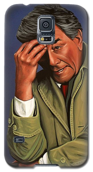 Peter Falk As Columbo Galaxy S5 Case by Paul Meijering
