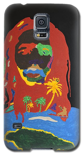 Peter Tosh Bush Doctor Galaxy S5 Case by Stormm Bradshaw