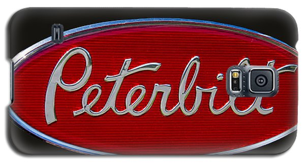 Truck Galaxy S5 Case - Peterbilt Semi Truck Emblem by Nick Gray