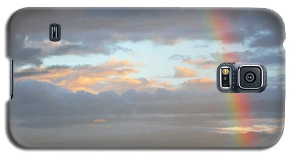 Peterson's Butte Rainbow Landscape Galaxy S5 Case by Nick  Boren
