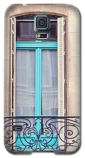 Petit - Parisian Balcony  Galaxy S5 Case by Melanie Alexandra Price