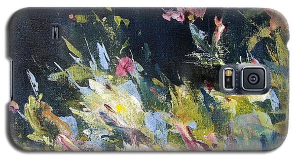 Galaxy S5 Case featuring the painting Petite Bouquet by Mary Lynne Powers