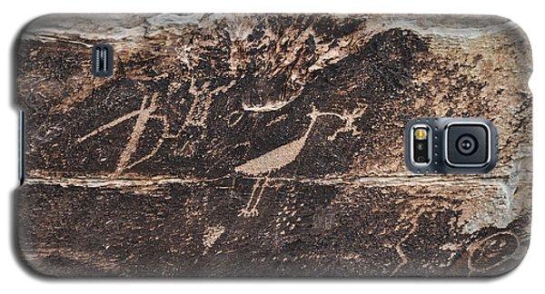 Petroglyph Bird Galaxy S5 Case