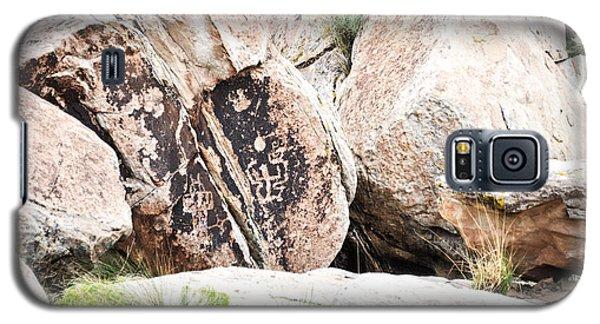 Petroglyph Galaxy S5 Case by Cheryl McClure
