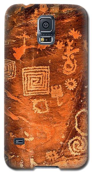 Petroglyph Symbols Galaxy S5 Case