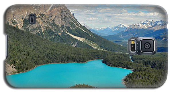 Peyto Lake Galaxy S5 Case by Lisa Phillips