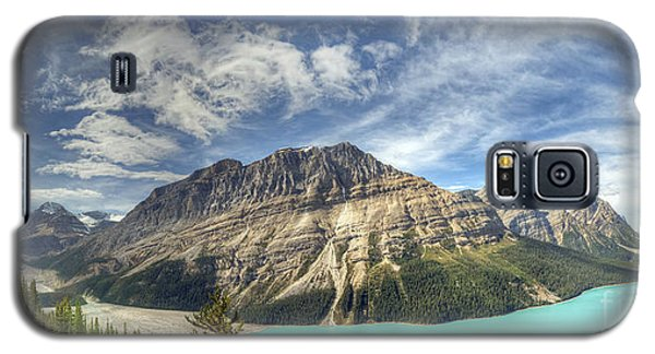 Peyto Lake Galaxy S5 Case by Wanda Krack