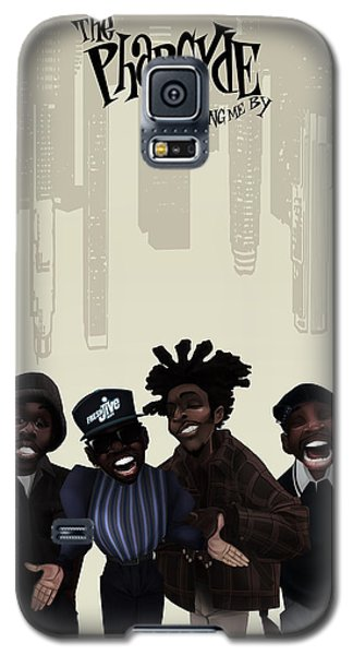 Pharcyde -passing Me By 1 Galaxy S5 Case by Nelson dedos Garcia