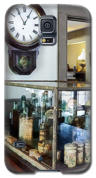 Galaxy S5 Case featuring the photograph Pharmacist - Corner Drug Store by Susan Savad