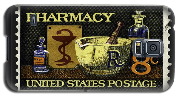 Pharmacy Stamp With Bowl Of Hygeia Galaxy S5 Case