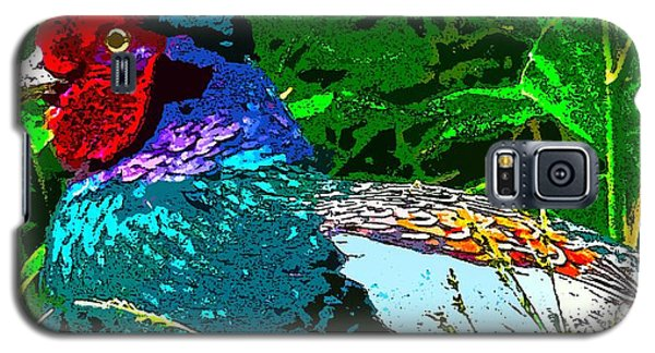 Pheasant Digiartwork Galaxy S5 Case