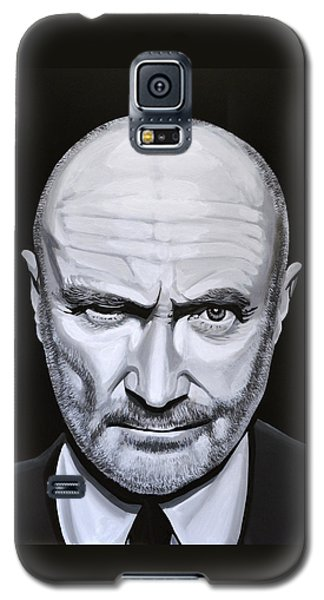 Trumpet Galaxy S5 Case - Phil Collins by Paul Meijering