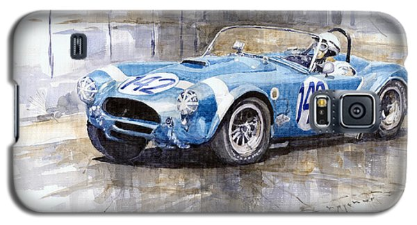 Phil Hill Ac Cobra-ford Targa Florio 1964 Galaxy S5 Case by Yuriy Shevchuk