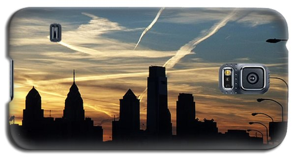 Philadelphia At Dusk Galaxy S5 Case