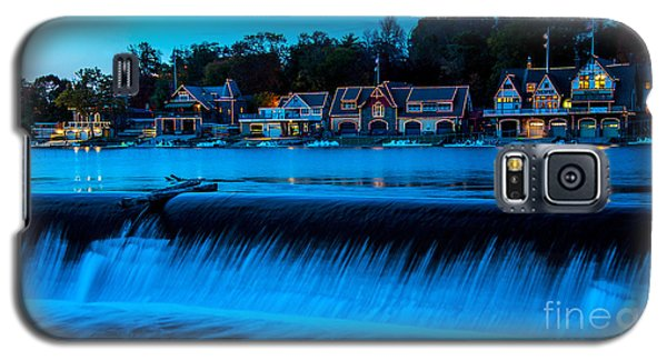 Philadelphia Boathouse Row At Sunset Galaxy S5 Case