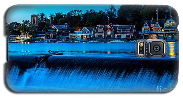 Philadelphia Boathouse Row At Sunset Galaxy S5 Case