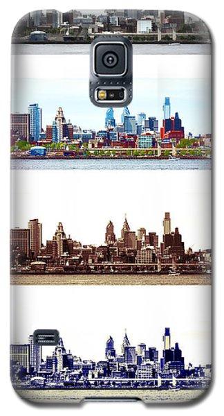Philadelphia Four Seasons Galaxy S5 Case by Olivier Le Queinec