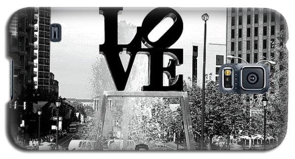 Philadelphia Love Bw Galaxy S5 Case