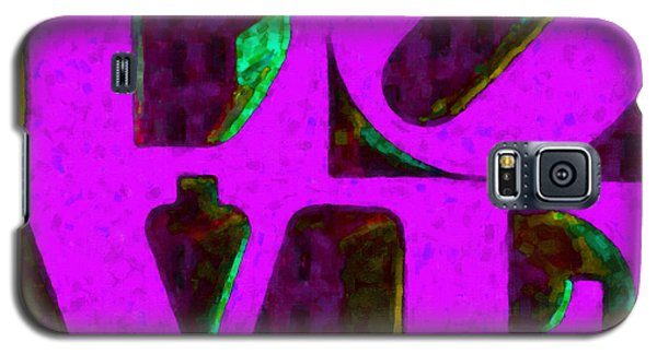 Philadelphia Love - Painterly V2 Galaxy S5 Case
