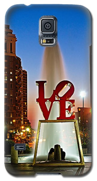 Philadelphia Love Park Galaxy S5 Case