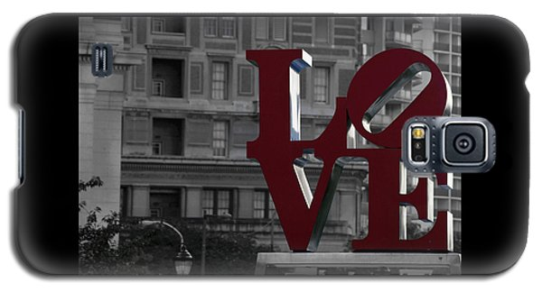 Philadelphia Love Galaxy S5 Case