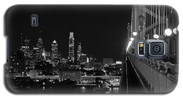 Philadelphia Night B/w Galaxy S5 Case