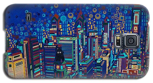 Philadelphia Panorama Pop Art 2 Galaxy S5 Case