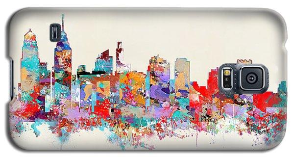 Philadelphia Skyline Galaxy S5 Case by Bri B