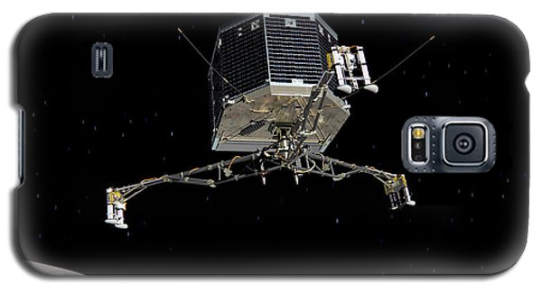 Galaxy S5 Case featuring the photograph Philae Lander Descending To Comet 67pc-g by Science Source