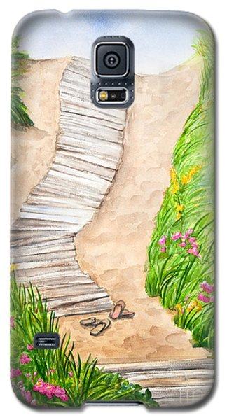 Philbin Beach Path Galaxy S5 Case