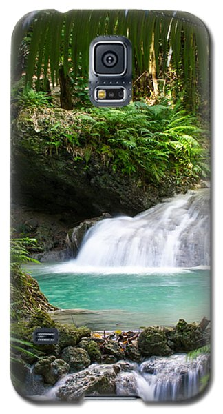 Galaxy S5 Case featuring the photograph Philippine Waterfall by Avian Resources
