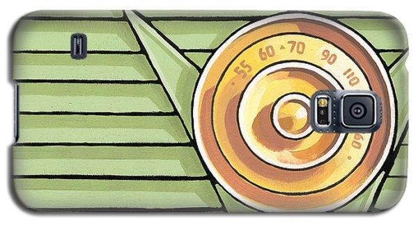 Phillips Radio - Green Galaxy S5 Case