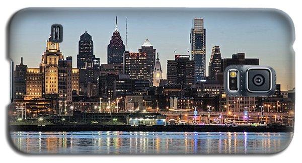 Philly Sunset Galaxy S5 Case by Jennifer Ancker